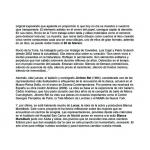 "El Imparcial pag 2 ""Origen I"" Madrid 2012"