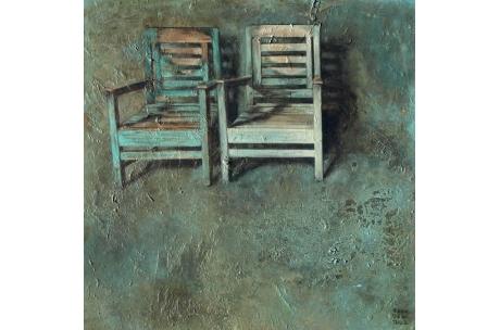 """naturaleza muerta """"dos sillas"""""""