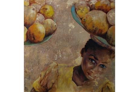 Fruta I (membrillos)