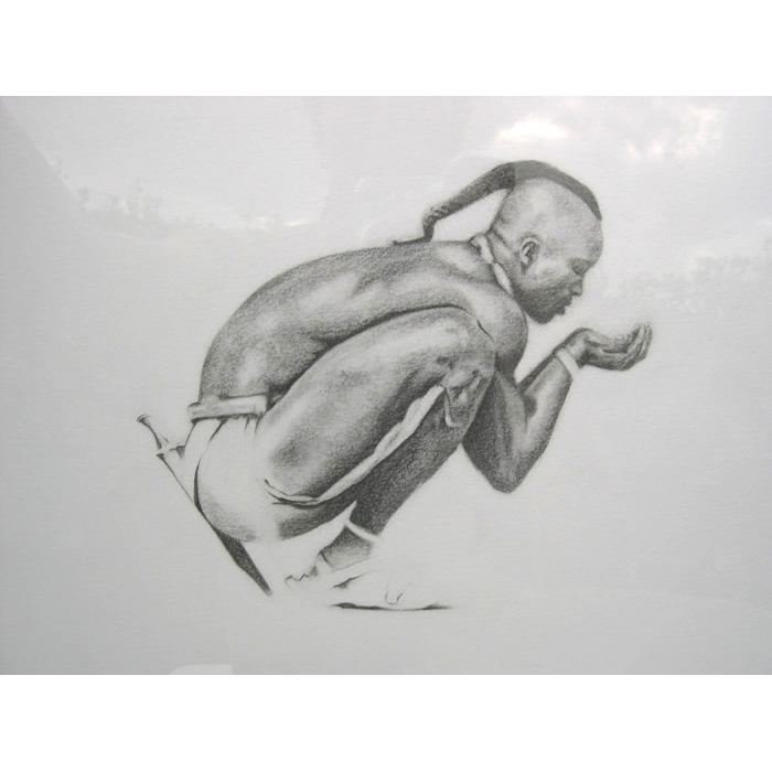 Miembro de la tribu de los Himba