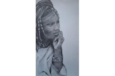 Mujer Tuareg