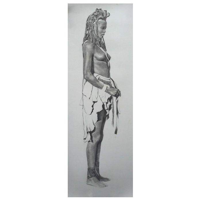 Mujer de la tribu de los Himba