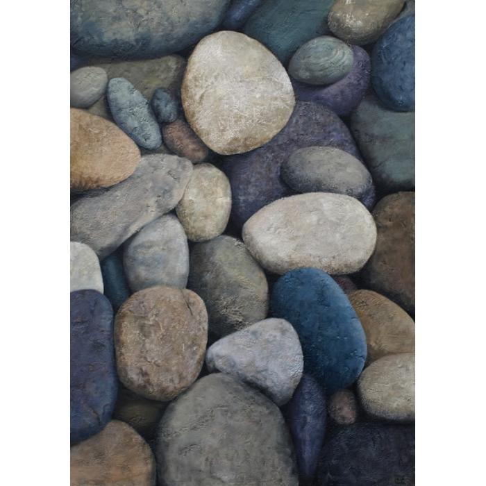 piedras de rio pintura