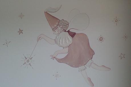 Mural cuarto niña hada
