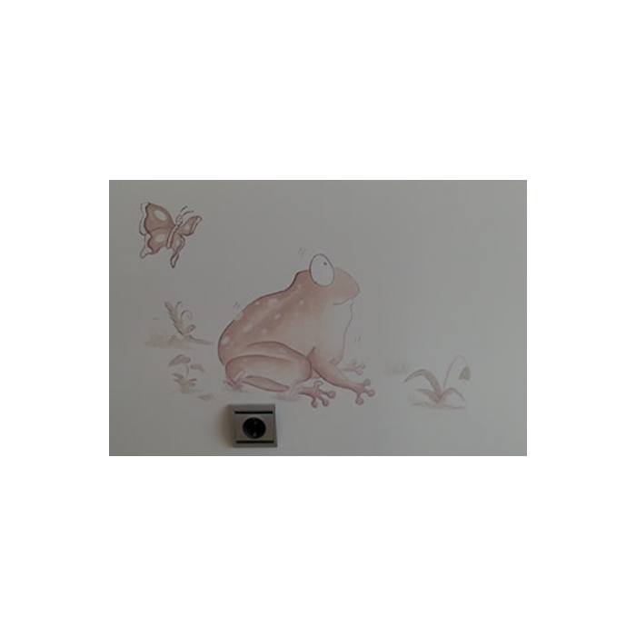 Mural para cuarto niña