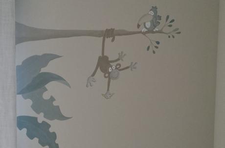 Mural para cuarto de niños