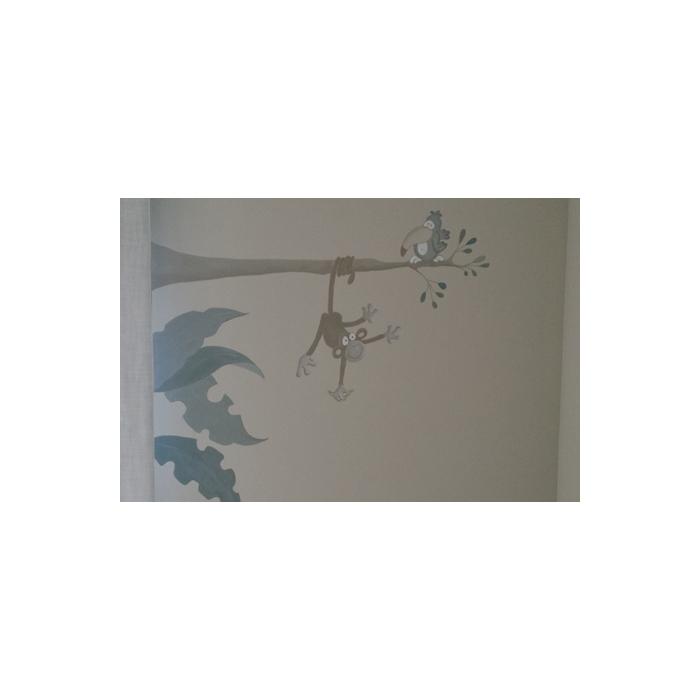 Mural para cuarto ni os rocio de la torre - Mural para habitacion ...