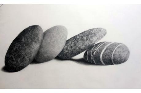 """caja de luz """"piedra sobre piedra"""""""