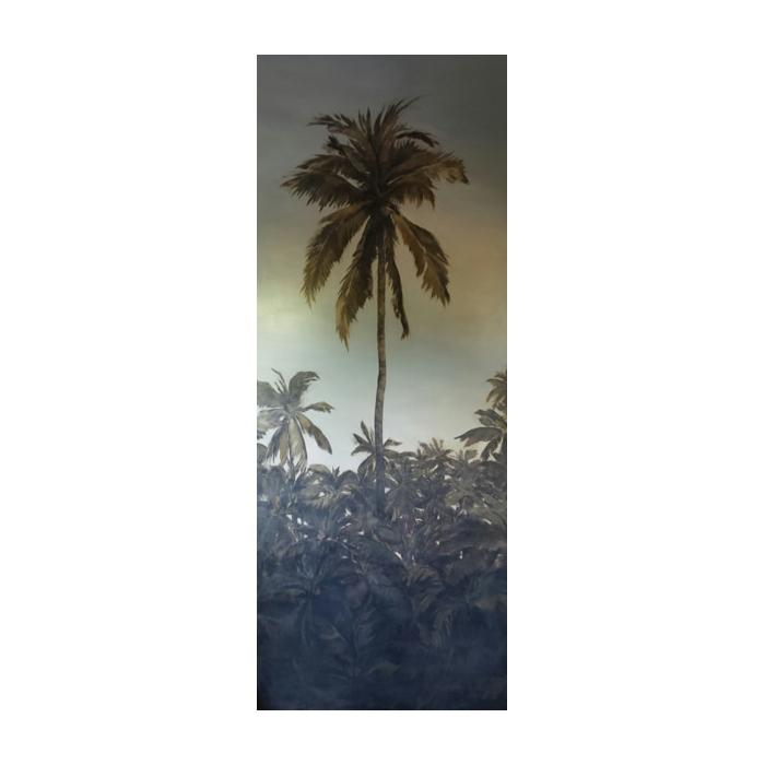 mural palmera
