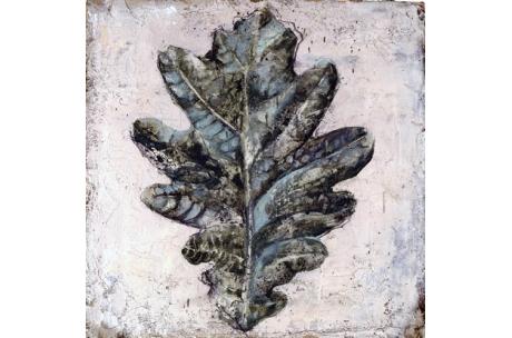 trío de hojas I