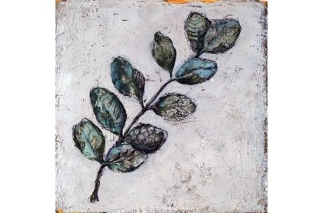 trío de hojas II